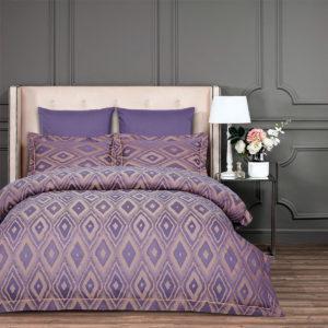 Постельное Белье Arya Majestik Бамбук Barton Фиолетовое