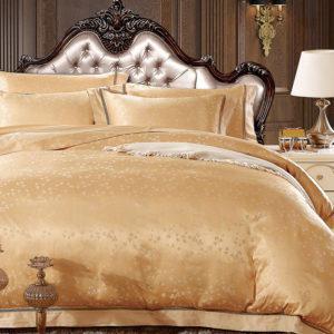 Шелковое постельное белье La Scala жаккард JP-19