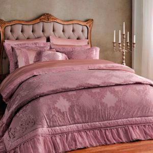 Покрывало Arya Elegance 260×270 Розовый