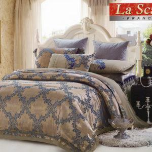 Шелковое постельное белье La Scala 3D-111