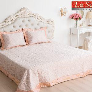 Покрывало гобеленовое La Scala PG-31 Гобелен Розовый