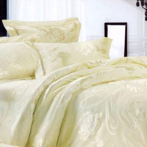 Шелковое постельное белье La Scala жаккард JT-10