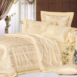 Шелковое постельное белье La Scala жаккард JT-23 Франция