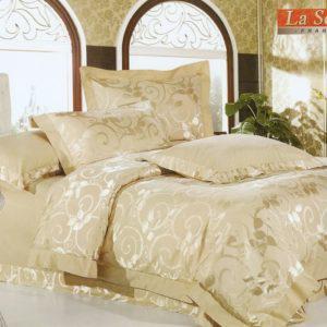 Шелковое постельное белье La Scala жаккард JT-36 Франция