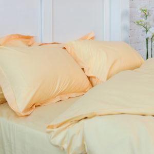 Однотонное постельное белье La Scala сатин S-03