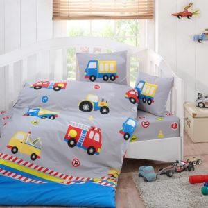 Детское постельное белье Class Autos v1 100х150