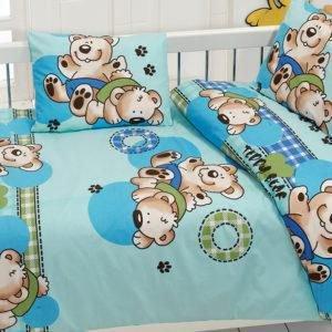 Детское постельное белье Class Ayicik v3 Mavi 100x150 (CB08007802) Голубой