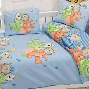 Детское постельное белье Class Dus v2 Mavi 100x150 (CB08007804) Голубой