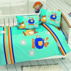 Детское постельное белье Class Sky v2 Turkuaz 100x150 (CB08007810) Голубой