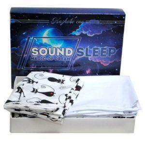 Детское постельное белье Cute Kitty SoundSleep Ran-105-1 112х147(MG_91583137)Белый