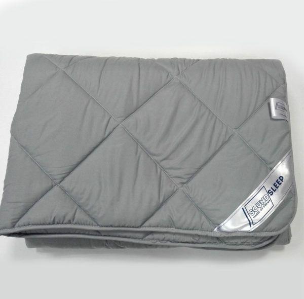 Одеяло шерстяное SoundSleep Soft Dreams серое (MG_92118673)Серый