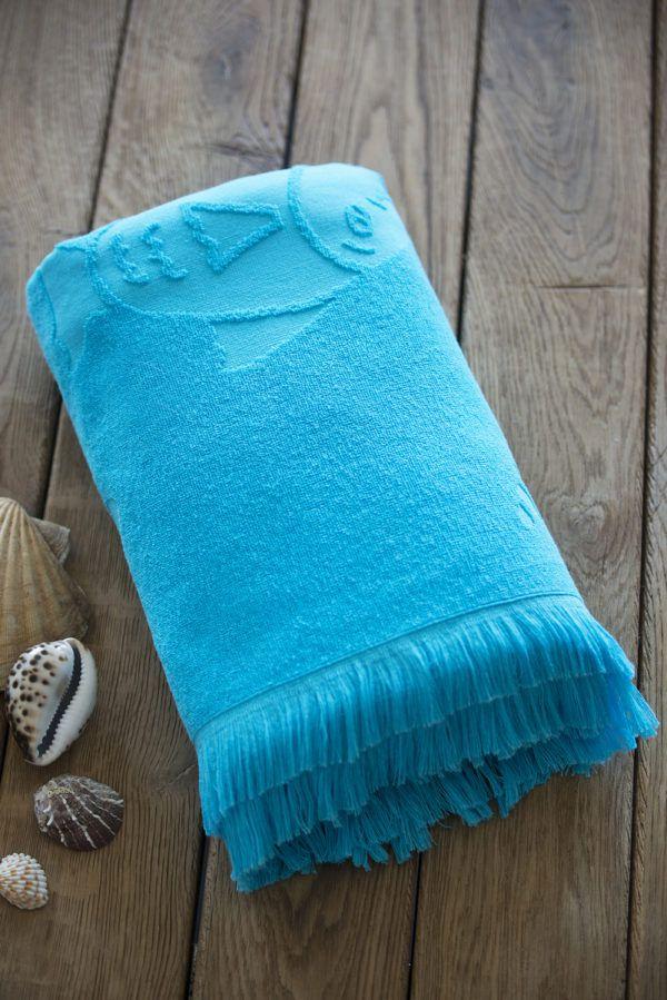 Пляжное полотенце SoundSleep Tahiti turquoise 100x150(MG_653590747734)Голубой