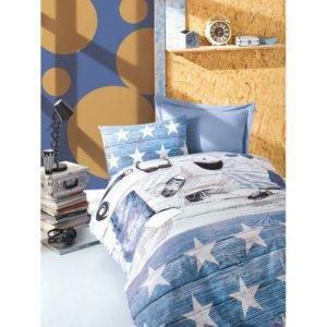 Подростковое постельное белье Cotton Box MODUS MAVI 160×220