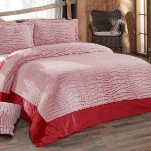Покрывало IRYA Stone  Kirmizi 250x270 (CB02008035) Розовый