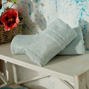 Полотенце махровое SoundSleep Odesse светло-голубое