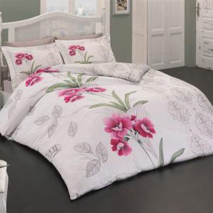 Постельное белье Class Bahar teksil Nilufer v1 200x220 (CB010078173) Розовый