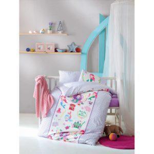 Постельное белье Cotton Box для новорожденных Deniz Kizi Lila 100x150 (CB08007787) Сиреневый