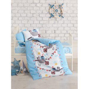 Постельное белье Cotton Box для новорожденных Gemici Mavi 100x150 (CB08007776) Голубой