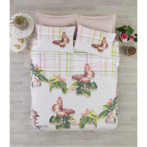 Постельное белье Cotton Box 3D BRENDA YESIL 200×220