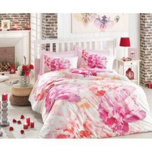 Постельное белье Cotton Box 3D DREAMY PEMBE 200×220