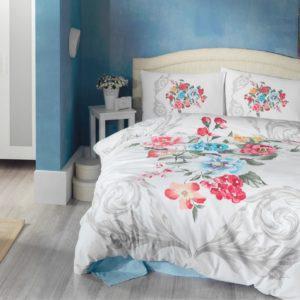 Постельное белье Cotton Box 3D VANESSA MAVI 200×220