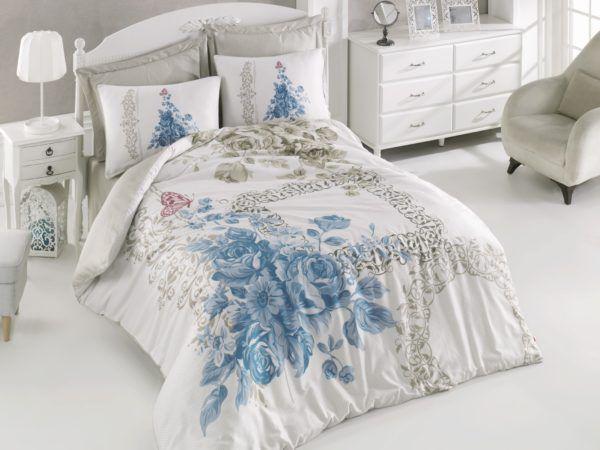 Постельное белье Cotton Box DEFNE MAVI 200×220