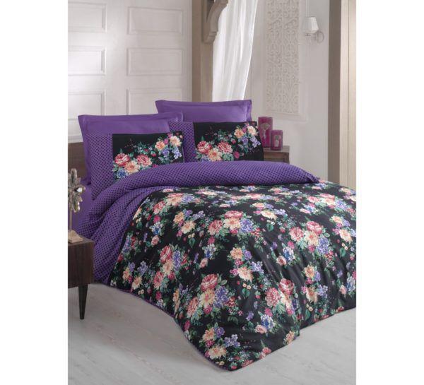 Постельное белье Cotton Box JADEN MOR 200x220 (CB010077421) Фиолетовый