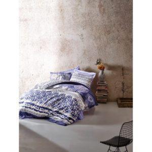 Постельное белье Cotton Box LUCCA MAVI 200x220 (CB010077464) Фиолетовый