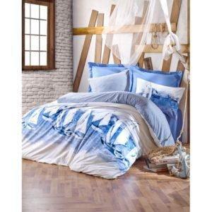 Постельное белье Cotton Box PUSLA MAVI 200x220 (CB010077466) Голубой