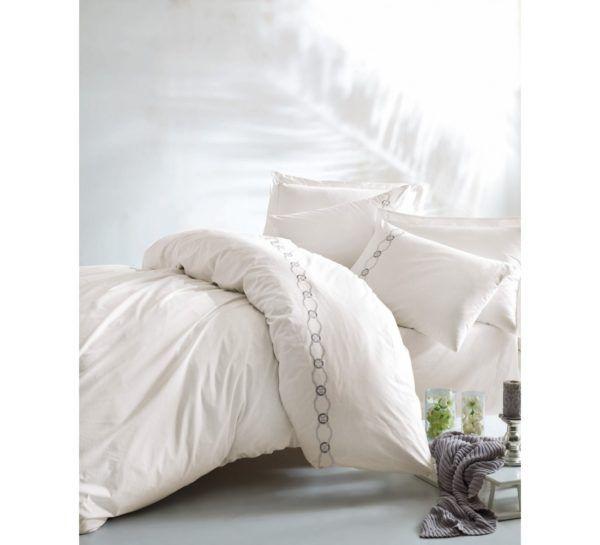 Постельное белье Cotton Box RAMENS 200x220 (CB010077474) Белый Кремовый