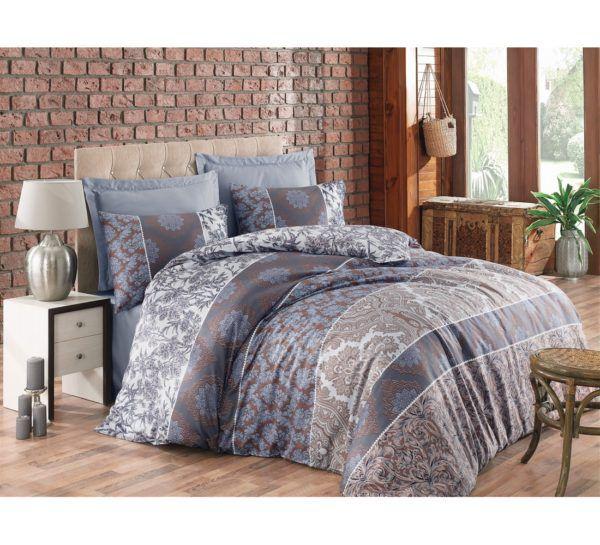 Постельное белье Cotton Box Royal ALBERTA KAHVE 200x220 (CB010077372) Серый