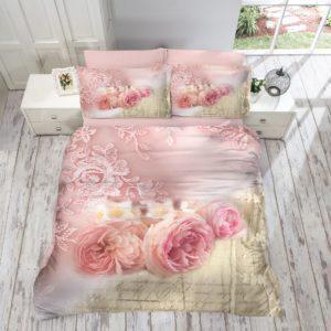 Постельное белье Gokay 3D Roses 200x220 (CB01007991) Розовый