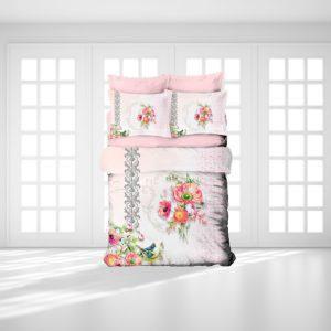 Постельное белье Gokay 3D Sila 200x220 (CB010079134) Розовый
