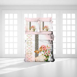 Постельное белье Gokay 3D Veronica 200x220 (CB010079135) Розовый
