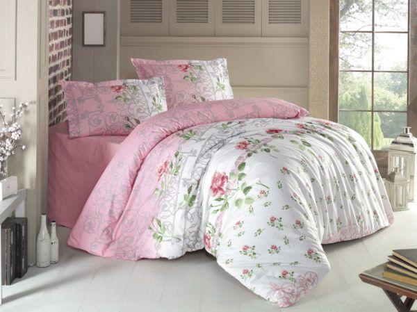 Комплект Постельного Белья Gokay Festival 200x220 (CB010079158) Розовый фото