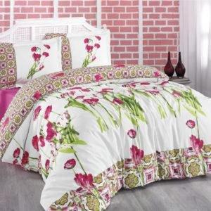 Комплект Постельного Белья Gokay Rhapsody 200x220 (CB010079161) Розовый фото