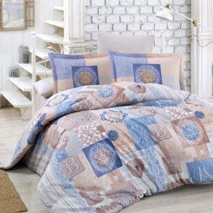 Постельное белье Halley Home Allegra v3 200x220 (CB01004430) Голубой
