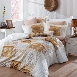 Постельное белье Halley Home Pastel 200×220