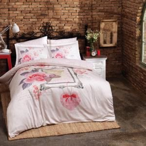 Постельное белье Halley Home Sevgim 200×220
