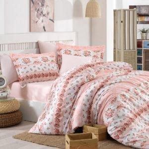 Постельное белье Halley Home Sr 011 200x220 (CB01004425) Розовый
