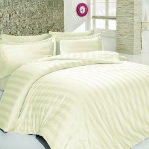 Постельное белье SoundSleep сатин-жаккард Stripes Cream (MG_92115894)Кремовый