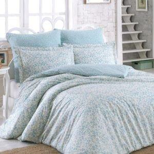 Постельное белье SoundSleep Elenora Blue ранфорс голубой