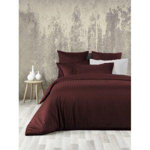 Постельное белье SoundSleep Line Bordo сатин-жаккард бордовый 200x220(MG_92116297)Коричневый|Бордовый