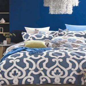 Постельное белье Valtery C-286 200x220 (CB010082167) Синий