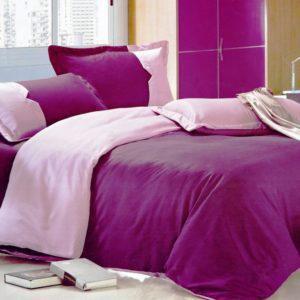 Постельное белье Valtery MO-10 200x220 (CB01008239) Фиолетовый