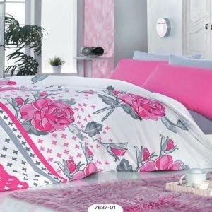 Постельное белье Zambak 7637-01 200x220 (CB01008123) Розовый