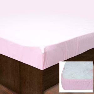 Простынь на резинке SoundSleep PR80R-Ran-149 Pink (MG_91532944)Розовый
