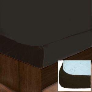 Простынь на резинке SoundSleep brown 181