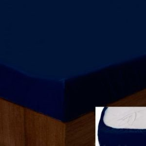 Простынь на резинке SoundSleep dark blue 183