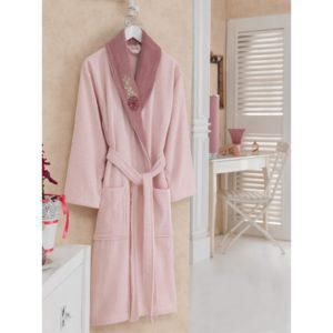 Халат Cotton Box Daily PEMBE-G.KURUSU S/M (CB12007707) Розовый